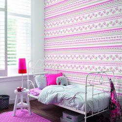 کاغذ دیواری مدرن مسکونی گلدار اروپایی از آلبوم بونت کل موجودی ۹۴ رول