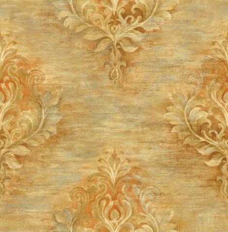 کاغذ دیواری گل دار کلاسیک کد 20405 آلبوم اسپلانده