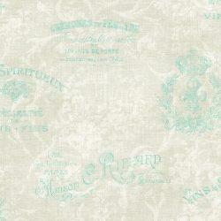 کاغذدیواری طرح پتینه پذیرایی داماسک فولیو ساخت آمریکا با کد 30104