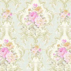 کاغذ دیواری گلدار طرح کلاسیک ساخت آمریکا از آلبوم داماسک فولیو 30908