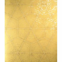 کاغذ دیواری طرح سرامیک طلایی کاتالوگ بلژیکی سرام CERAMکد ۱۰۳
